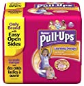 Huggies Pull-Ups Training Pants with Learning Designs, Girls, 2T-3T, 58-Count