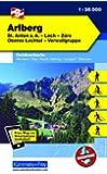 Arlberg, St. Anton a. A., Lech, Zürs, Oberes Lechtal, Verwallgruppe: Nr. 03, Outdoorkarte Österreich, 1:35 000, Freemap on Smartphone included
