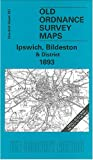 img - for Ipswich, Bildeston & District 1893: One Inch Sheet 207 (Old Ordnance Survey Maps - Inch to the Mile) book / textbook / text book