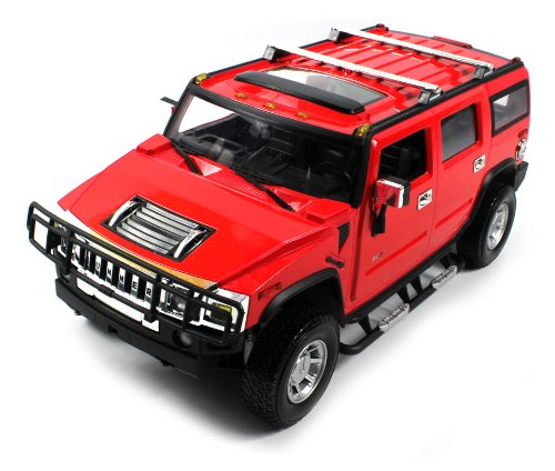 Licensed Hummer H2 Suv Electric Rc Truck 1:14 Rtr, Big Size (Colors May Vary)