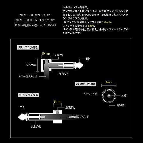 SF PLUG ��������쥹 �ץ饰 SFPL L��ץ饰 10��+3M�����֥� SFC-3M+EC-50(���ե�������������)���å�