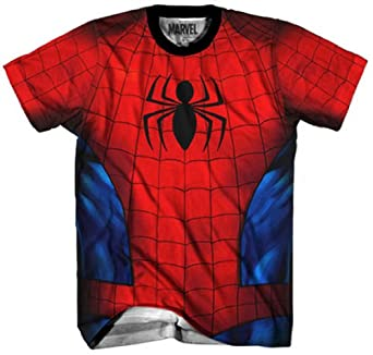 Marvel Official Spider-Man Spidey Costume T-Shirt