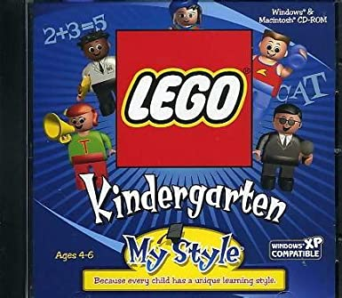 Lego My Style Kindergarten Book Cover