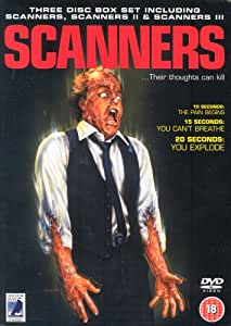 Scanners / Scanners II - The New Order / Scanners III - The Takeover [1981] [DVD]