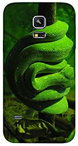 Timpax protective Armor Hard Bumper Back Case Cover. Multicolor printed on 3 Dimensional case with latest & finest graphic design art. Compatible with Samsung Galaxy S-5-Mini Design No : TDZ-26630