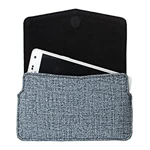 DooDa PU Leather Pouch Case Cover With Card / ID Slots For Spice Stellar 509