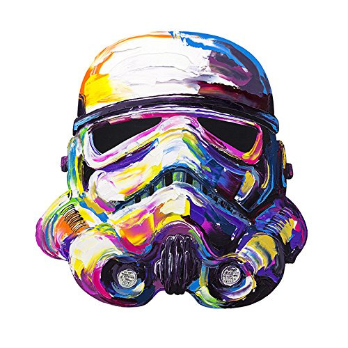 Storm trooper by brent fine life art for Cool life paint cost