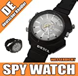 Magnum® HD IR Camera Watch - Spy Watch - Armbanduhr mit integr. Kamera