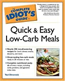 img - for The Complete Idiot's Guide to Quick and Easy Low-Carb Meals book / textbook / text book