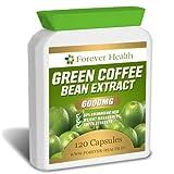 Caffè Verde Green Coffee Bean * Perdere Peso Velocemente * 120 Compresse Appositamente Formulato Per la Perdita di Peso in più Veloce con questi 6000mg di Compresse dietetiche ! STRATEGIA DIETETICA COMPRESA - 120 Pillole Dimagrante Super Forti !