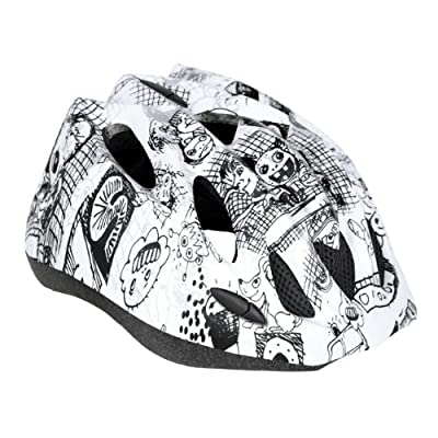 KIDS CHILDRENS BOYS GIRLS CYCLE SAFETY HELMET BIKE BICYCLE SKATING CARTOON 50-58cm by Spokey