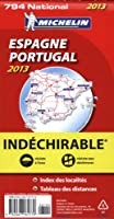 Carte NATIONALE Espagne Portugal Indechirable 2013 n°794