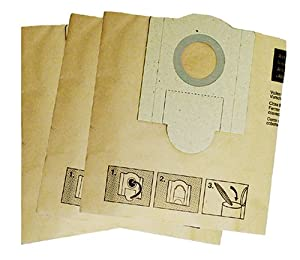 Fein 913038K01 Vacuum Bags for 9-11-20 and 9-11-55, 3 Pack