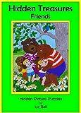 Friends Hidden Treasures: Hidden Picture Puzzles