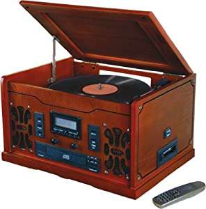 Innovative Technology ITRR-700 Retro USB Stereo Turntable System -- Record vinyl LP, cassettes and CD to MP3, NO COMPUTER NEEDED