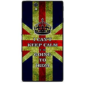 Skin4gadgets I CAN'T KEEP CALM I'm GOING TO IBIZA - Colour - UK Flag Phone Skin for SONY XPERIA Z (L36h)
