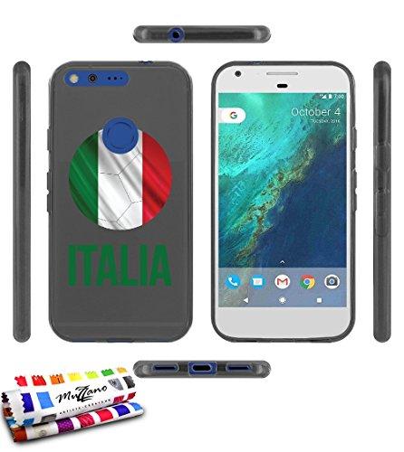 carcasa-flexible-ultra-slim-google-pixel-de-exclusivo-motivo-balon-de-futbol-italia-gris-de-muzzano-