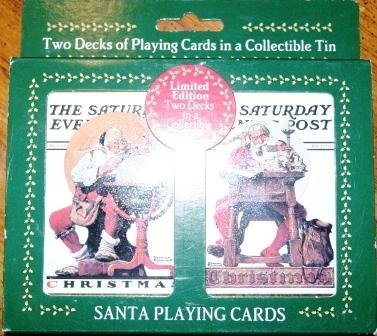 Norman Rockwell Santa Playing Cards - 1