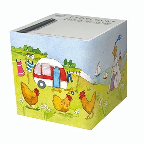 Fun And Unique Mother's Day Gift Idea Guide For Camping Moms - PADBLOCK TELEPHONE NOTE CUBE - 850 Sheets/90gsm - Emma Ball Glamping