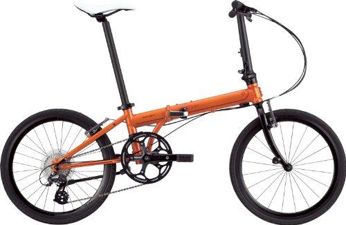 DAHON(ダホン) SPEED Falco [折りたたみ自転車 8Speed] 2014年モデル バーニッシュオレンジ KDA083