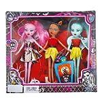 Fashion Girl 3pcs Zombie mu�eca Barbi...