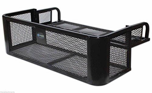 ATV-UTV-Universal-Rear-Drop-Basket-Rack-Steel-Cargo-Hunting-Titan-DDB2010
