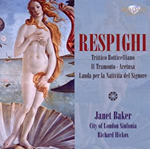 Hickox Singers - Respighi: Trittico Botticelliano - Amazon.com Music