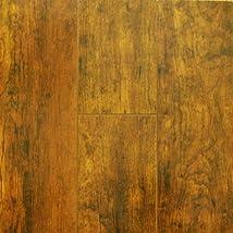 12.3 mm Durique Laminate Brazilian Tigerwood Flooring (8 inch Sample)