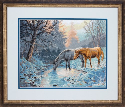Dimensions Gold Collection Counted Cross Stitch Kit, Frosty Morning