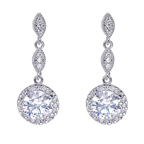 Junxin-Jewelry-Diamond-Earrings-for-women-10KT-Gold