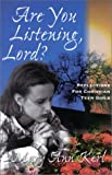 Are You Listening, Lord?: Reflections for Christian Teen Girls