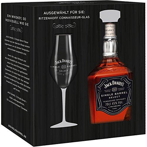 jack-daniels-single-barrel-45-vol-70cl-with-ritzenhoff-connaisseur-glas-gift-set