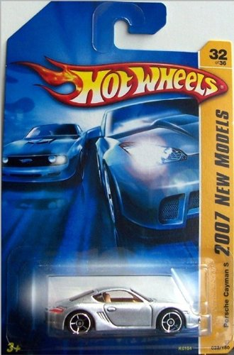 Hot Wheels Porsche Cayman S, 2007 First Editions 32/36. 1:64 scale.