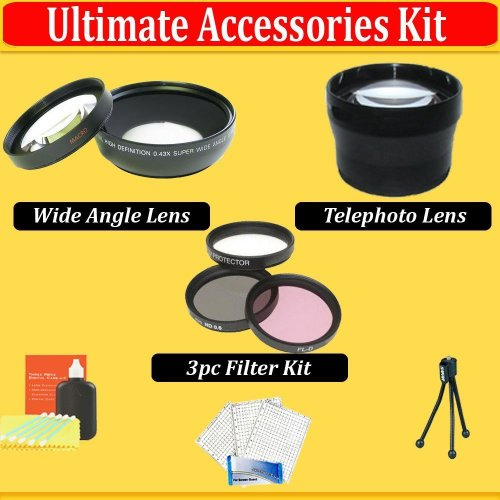 Sunset Professional Camera Accessories Kit