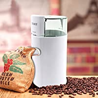 Texet GR-80 Dry Masala & Coffee Grinder|Dry Mill in White with Transperent Lid