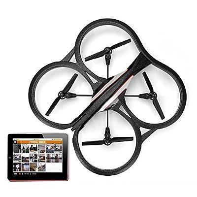 EverTrust(TM)Parrot AR Drone 1.0 & 2.0 Quadcopter Carbon Fiber CW CCW Propeller Black for Parrot AR Drone 1.0 & 2.0 Quadcopter Parts
