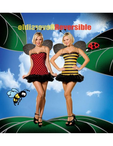 Buggin Out Lg Reversible Adult Womens Costume