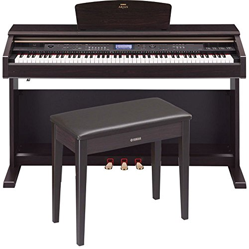 Yamaha Arius YDP-V240 Traditional Console Digital Piano With Bench (Used Digital Piano compare prices)