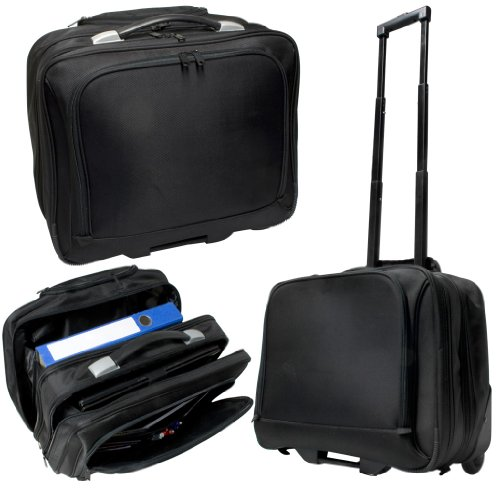 Businesstrolley schwarz Trolley Tasche Laptoptasche