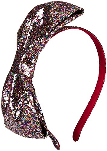 kate spade new york Large Bow Headband - Multicolor Glitter-One Size