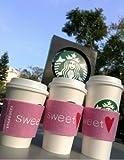 スターバックス2012バレンタインStarbucks カップスリーブ