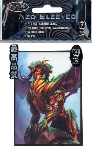Max Protection Card Supplies STANDARD Card Sleeves Sentinel 50 Count - 1