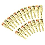 MuchBuy 20 X Musical Audio Speaker Cable Wire Connector 4mm Banana Plug US Ship