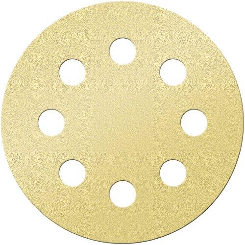 Platte River 161897, 5-pack Of 50 Each, Abrasives, Sanding Discs, Aluminum Oxide, Super Gold, 5