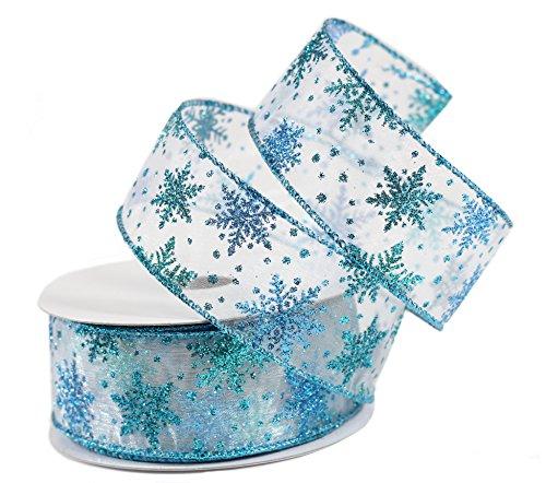 sheer-snowflake-christmas-holiday-ribbon-10-yards-wired-blue-15