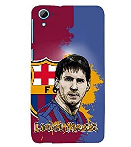 D KAUR Football Lovers Back Case Cover for HTC Desire 826::HTC Desire 826 Dual Sim::HTC Desire 826 DS (GSM + CDMA)
