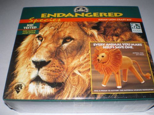 Endangered Species Asian Lion Craft Kit