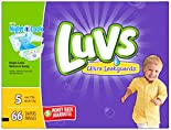 Luvs Diapers, Ultra Leakguards, Size 5 (Over 27 lb) 70 diapers