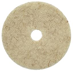 Glit / Microtron 405456 CocoPad Coconut Scented Burnishing Pad, 27'', White/Tan (Pack of 5)