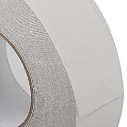 2x Clear Safety Stair Bathroom Grip Tape Anti Slip Roll Sticker Adhesive 18m